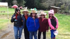 Easter bonnets, Sointula